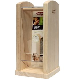 "Living World Hay Feeder - Small - 13 cm x 13 cm x 26.5 cm (5"" x 5"" x 10.5"")"