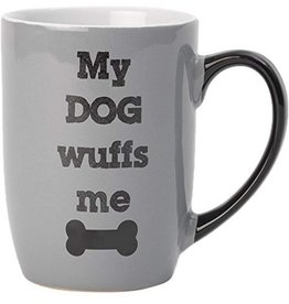 Petrageous My Dog Wuffs Me Mug 24oz
