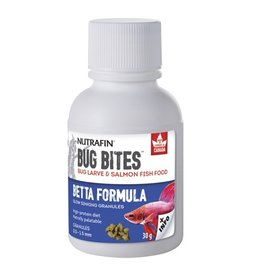 Nutrafin Bug Bites Betta Formula 0.5-1.5mm granules 30g (1.0oz)