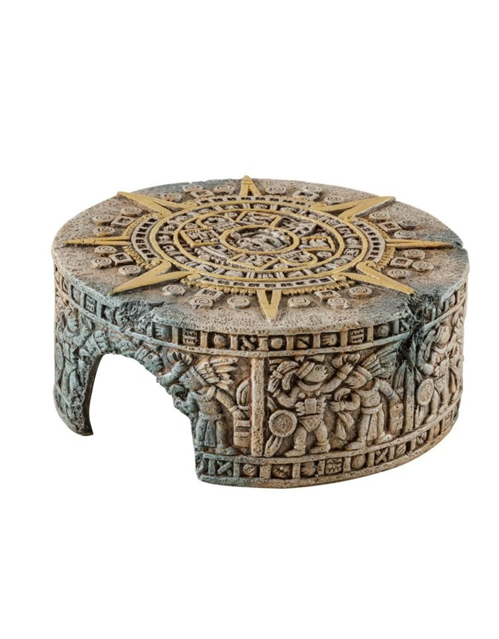 Exo Terra Aztec Calendar Stone Hide-Out M