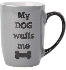Petrageous My Dog Wuffs Me Mug 24oz