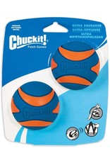 Chuckit! Ultra Squeaker Ball - M 2 Pack