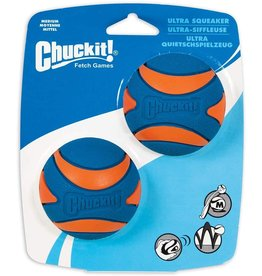 Chuckit! Ultra Squeaker Ball - M 2 Pack