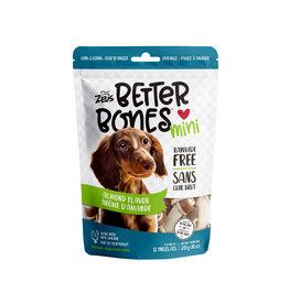 """Zeus Zeus Better Bones, Almond Flavour, 3"""", 12 pack"""