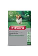 Bayer K9 Advantix II - 4.5kg and under, 6 doses