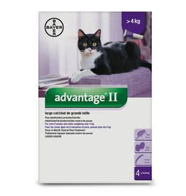 Bayer Advantage II - over 4kg, 4 doses