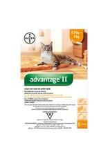 Bayer Advantage II - 2.3kg - 4kg, 6 doses