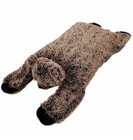 "FurSkinz FurSkin Blanket Bed - Bear - 41"" x 19"" x 6.5"""