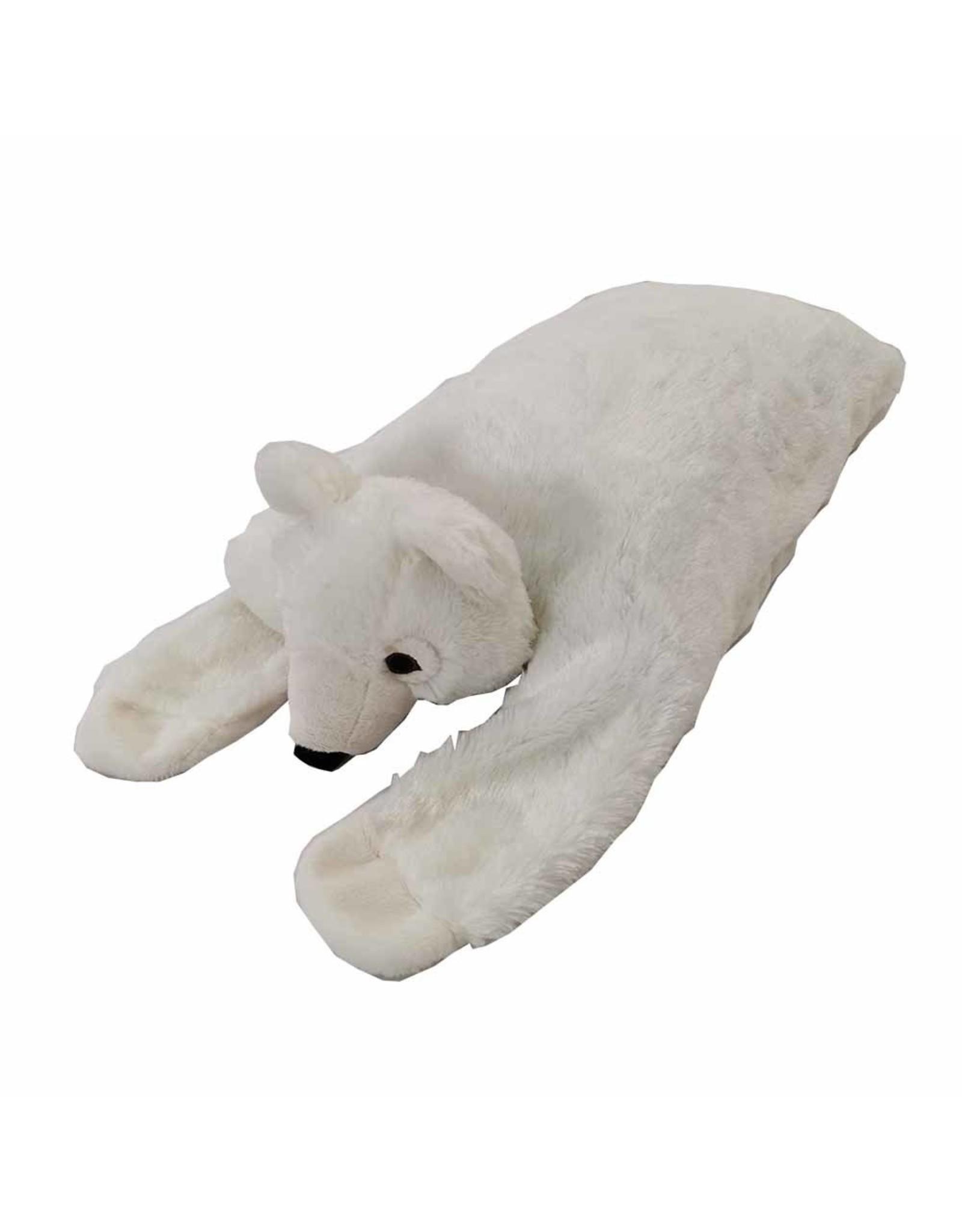 "FurSkinz FurSkin Blanket Bed - Polar Bear - 41"" x 19"" x 6.5"""