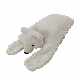 "FurSkinz FurSkin Blanket Bed - Polar Bear - 41"" x 19"" x 6.5"""