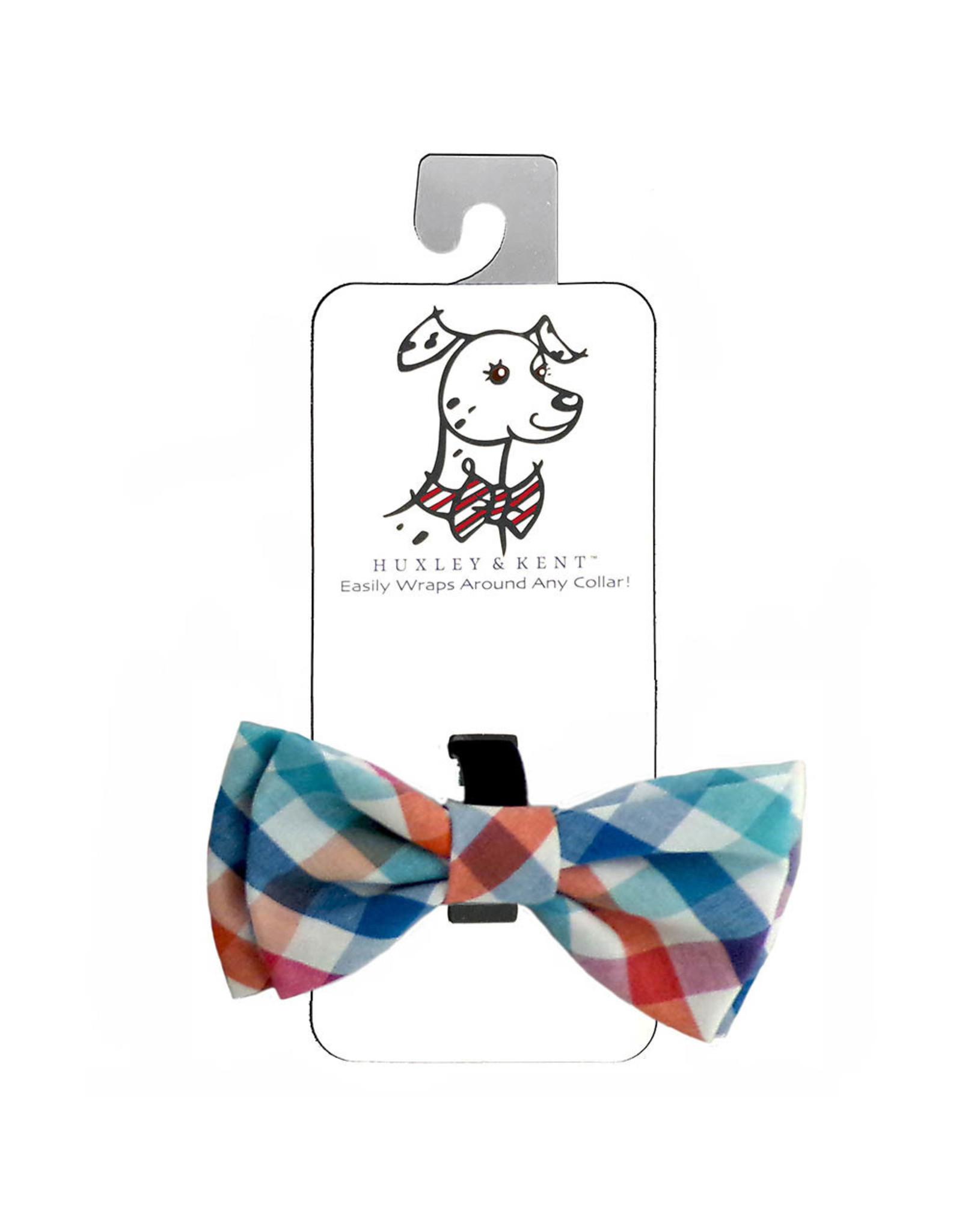 Huxley & Kent Bow Tie - Check - Small