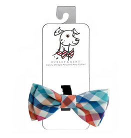 Huxley & Kent Bow Tie - Check - Small