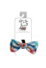 Huxley & Kent Bow Tie - Check - Large