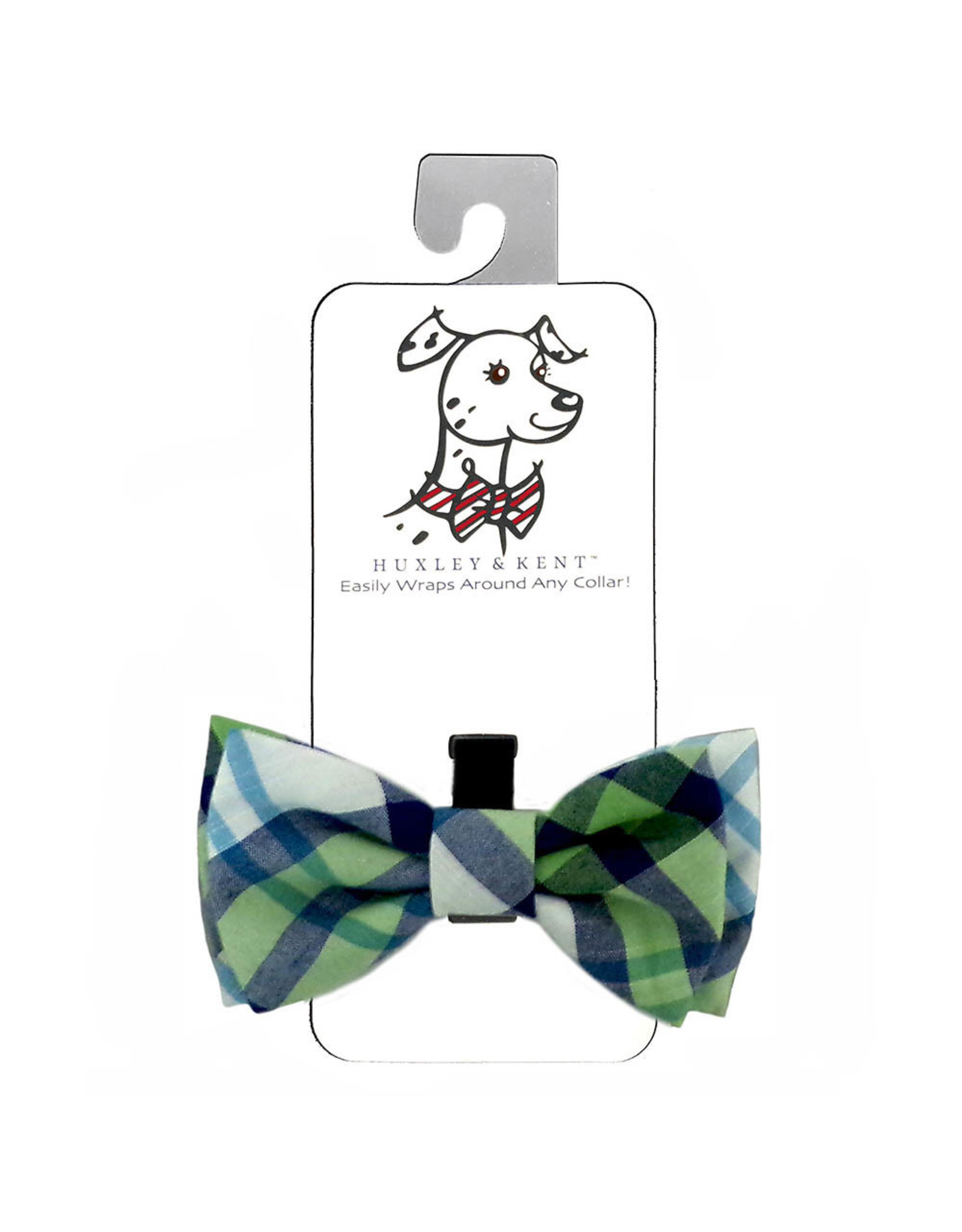 Huxley & Kent Bow Tie - Madras - Extra Large
