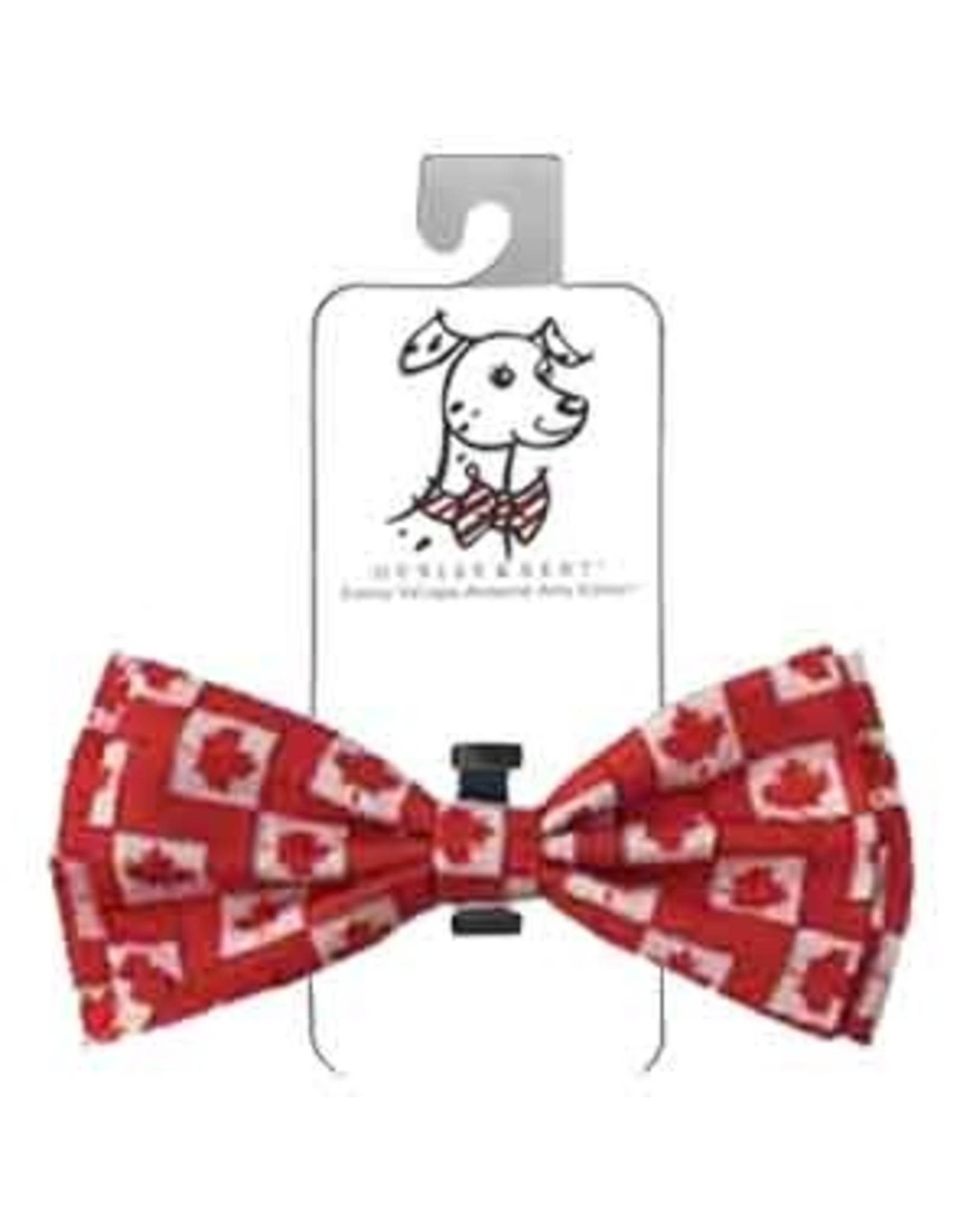 Huxley & Kent Bow Tie - O'Canada - Extra Large