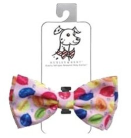 Huxley & Kent Bow Tie - Party Time Pink - Extra Large