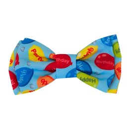 Huxley & Kent Bow Tie - Party Time Blue - Extra Large