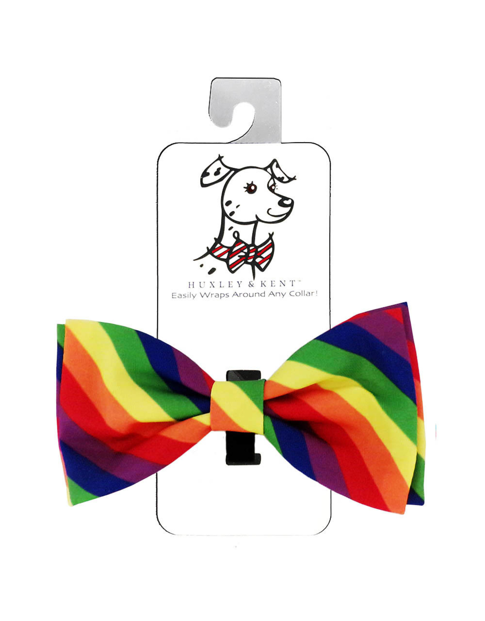 Huxley & Kent Bow Tie - Pride - Extra Large