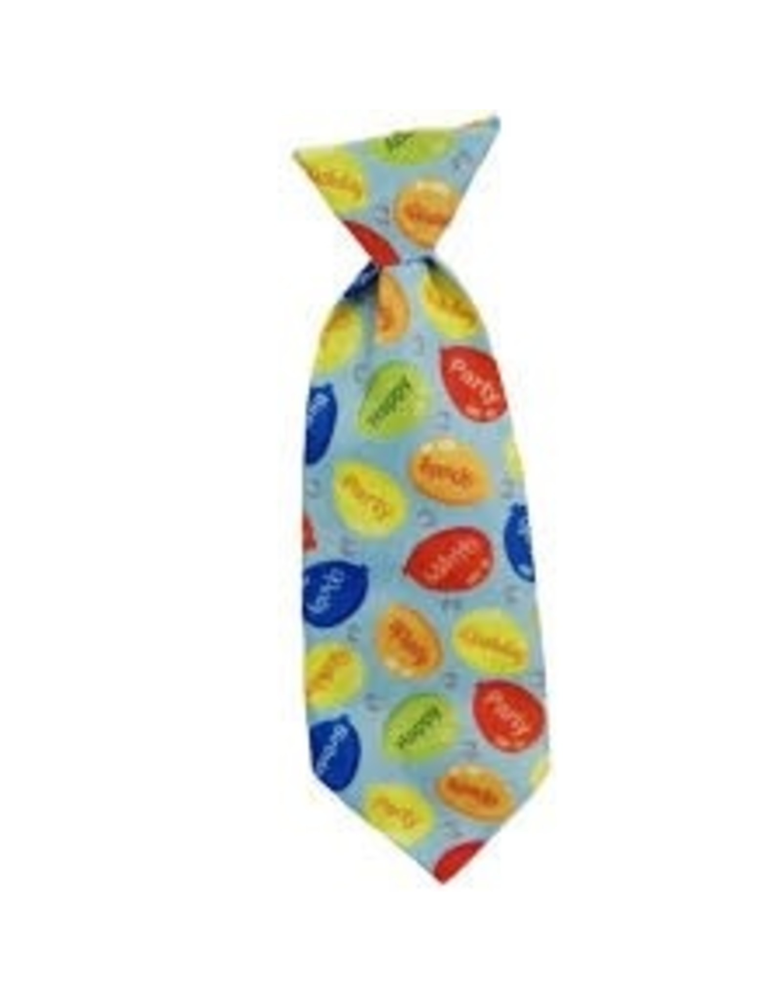 Huxley & Kent Long Tie - Party Time Blue - Small