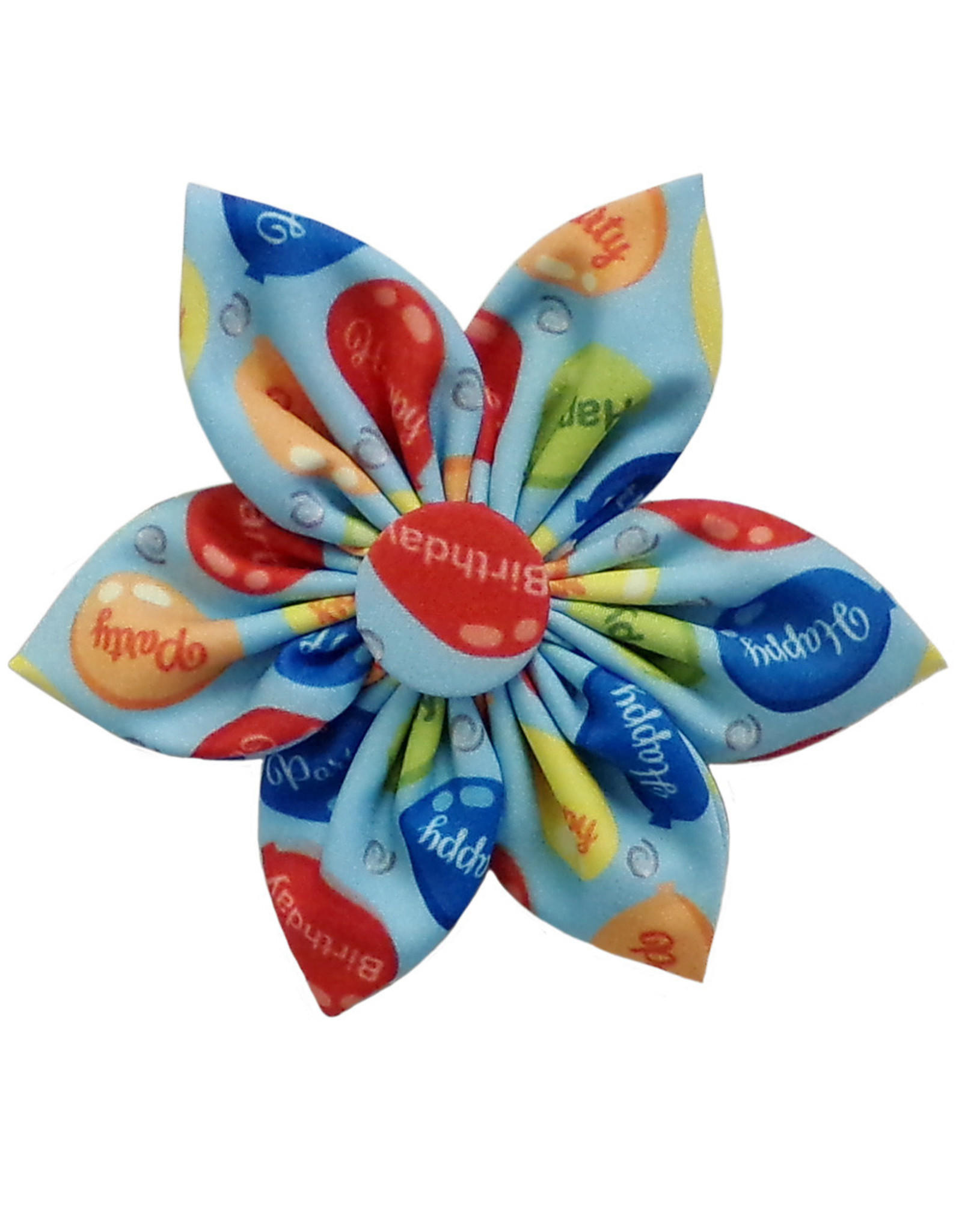 Huxley & Kent Pinwheel - Party Time Blue - Small