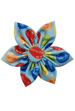 Huxley & Kent Pinwheel - Party Time Blue - Large