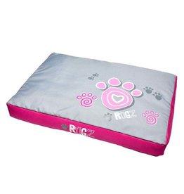 """Rogz Flat Podz - Pink Paw - Extra Large - 51"""" x 34"""" x 5"""""""