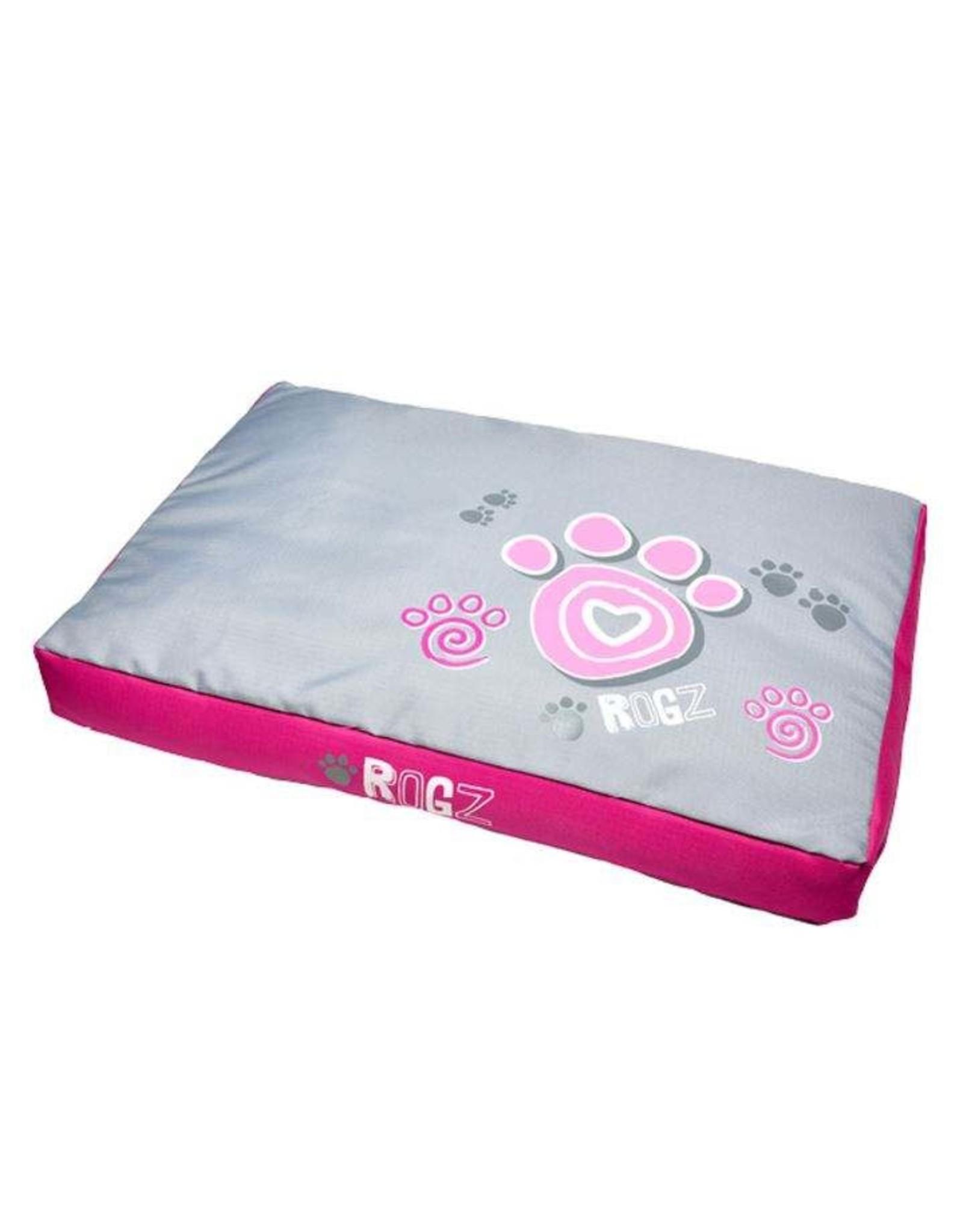 "Rogz Flat Podz - Pink Paw - Medium - 33"" x 22"" x 4"""