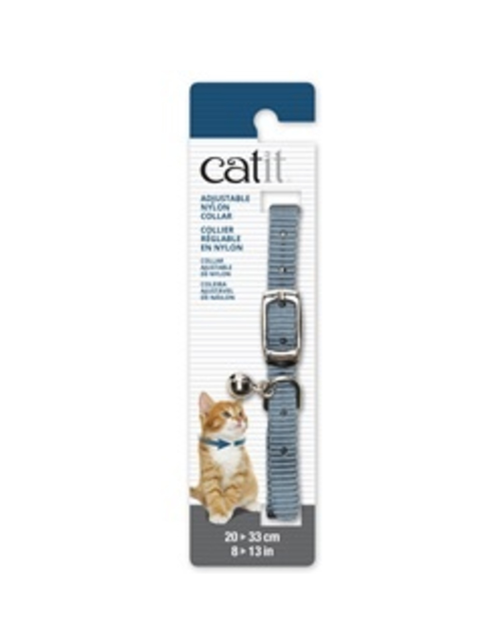 "CatIt Adjustable Nylon Cat Collar  20-33cm (8-13"")"