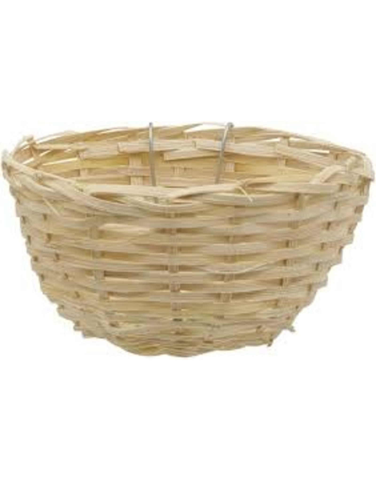 """Living World Bamboo Bird Nest for Canaries - 11 cm x 5.5 cm (4.3"""" x 2.2"""" in)"""