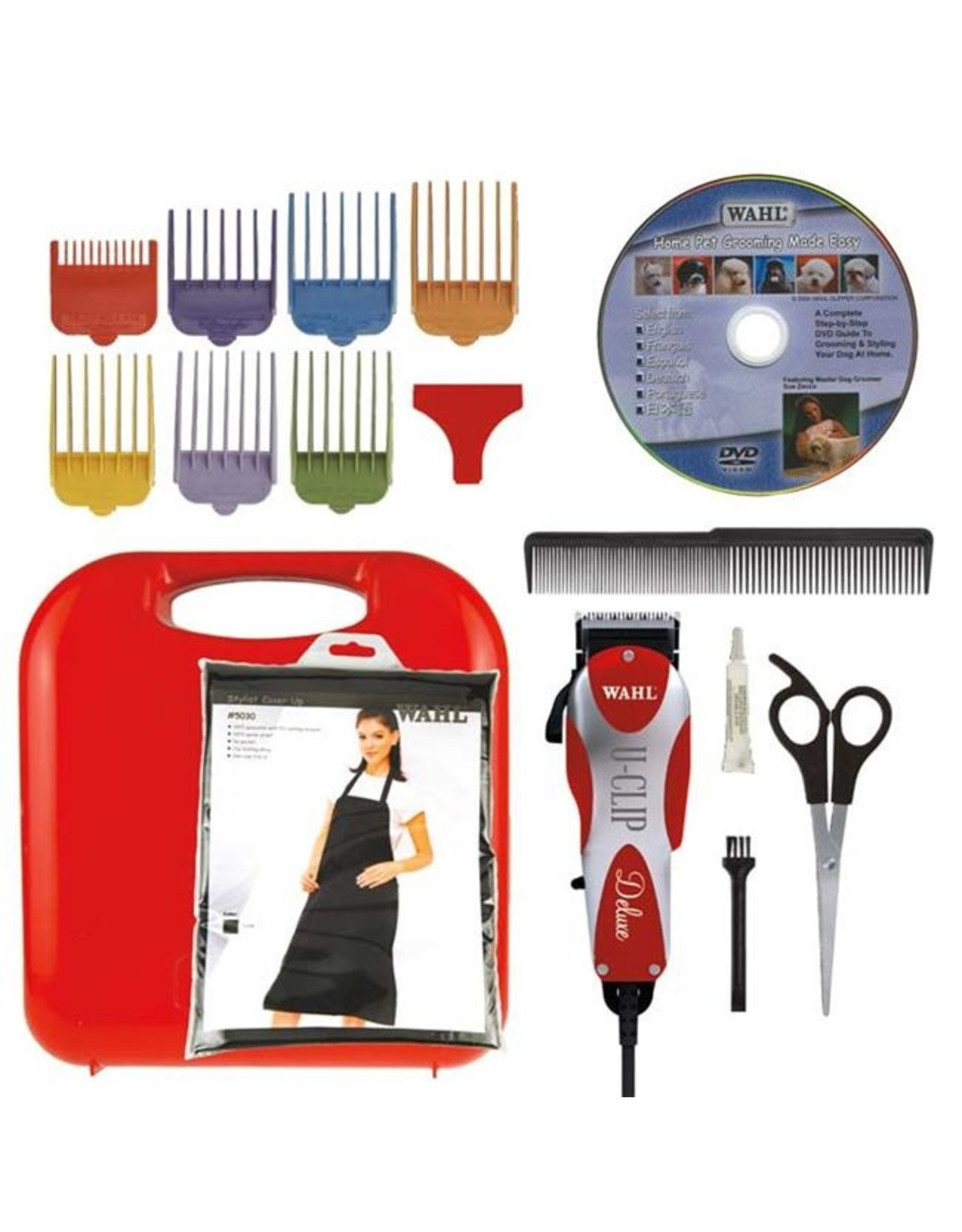 Wahl Wahl Deluxe U-Clip Medium Duty Home Grooming Kit