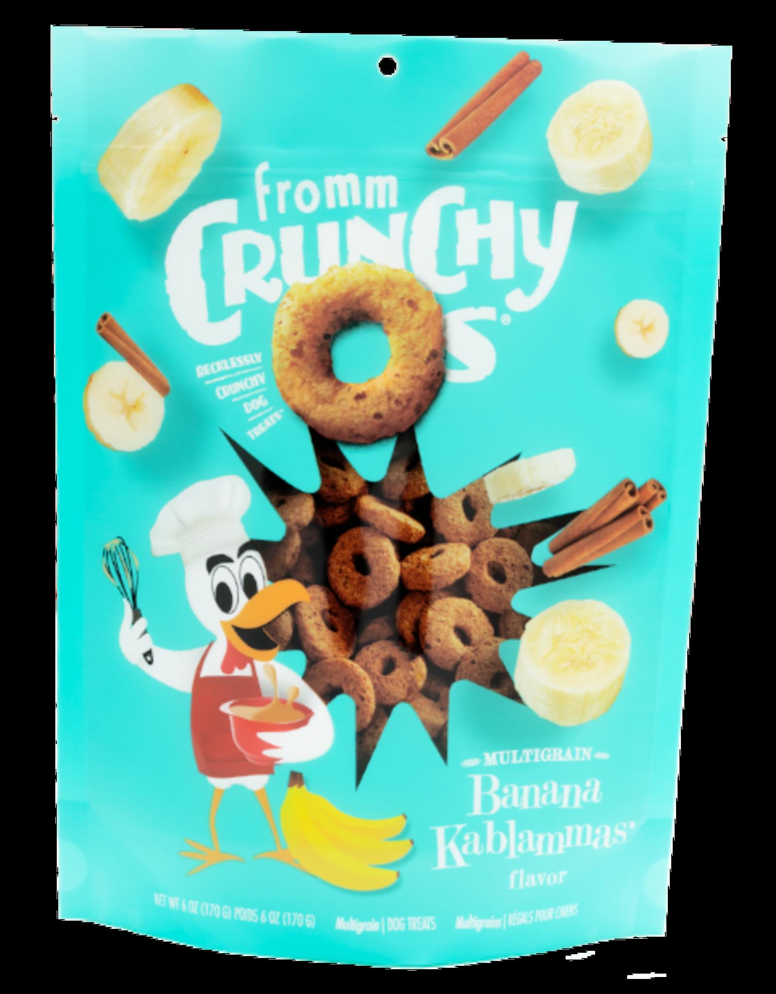 Fromm Fromm Crunchy O's - Banana Kablammas 6oz