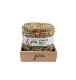 Living World Green Botanicals Meadow Hay Bale - Carrot 500g