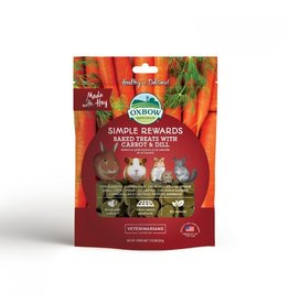 Oxbow Oxbow Simple Rewards Baked Treats - Carrot & Dill