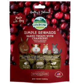 Oxbow Oxbow Simple Rewards Baked Treats - Cranberry