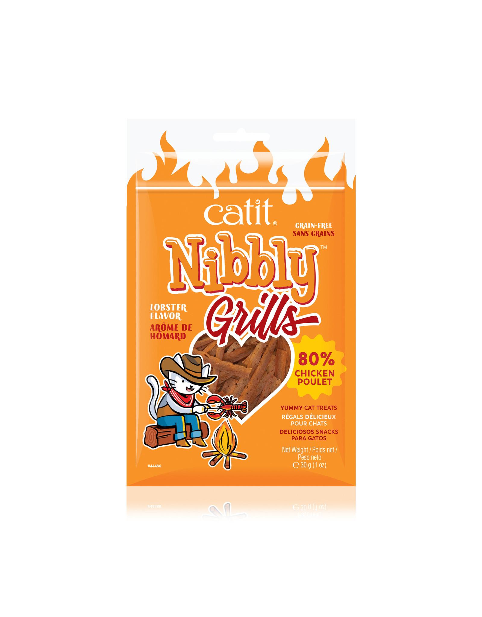 CatIt Nibbly Grills Chicken & Lobster 30g