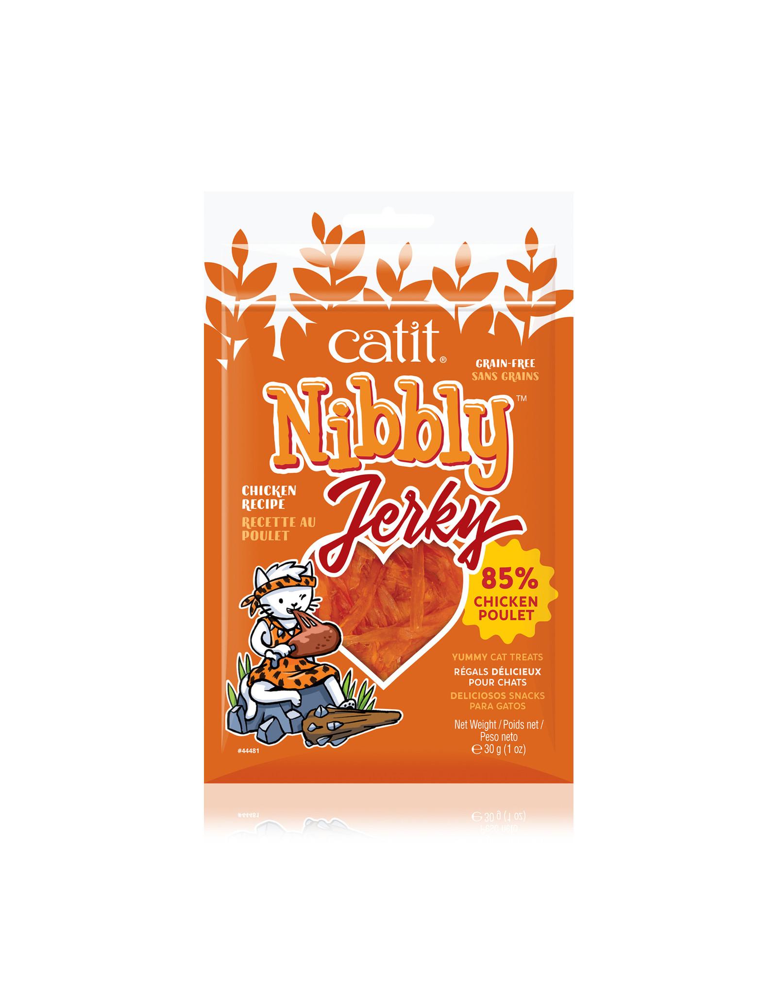 CatIt Nibbly Jerky Chicken 30g