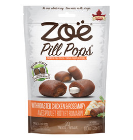 Zoe Zoe Pill Pops - Roasted Chicken with Rosemary - 100 g (3.5 oz)