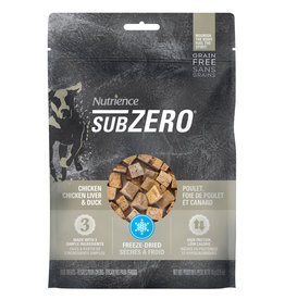 Nutrience Subzero Freeze-Dried Fraser Valley Treats - Chicken, Chicken Liver and Duck Liver - 70 g (2.5 oz)