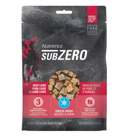 Nutrience Subzero Freeze-Dried Prairie Red Treats - Beef Liver, Pork Liver and Lamb Liver - 90 g (3 oz)