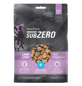 Nutrience Subzero Freeze-Dried Single Protein Treats - Lamb Liver - 90 g (3 oz)