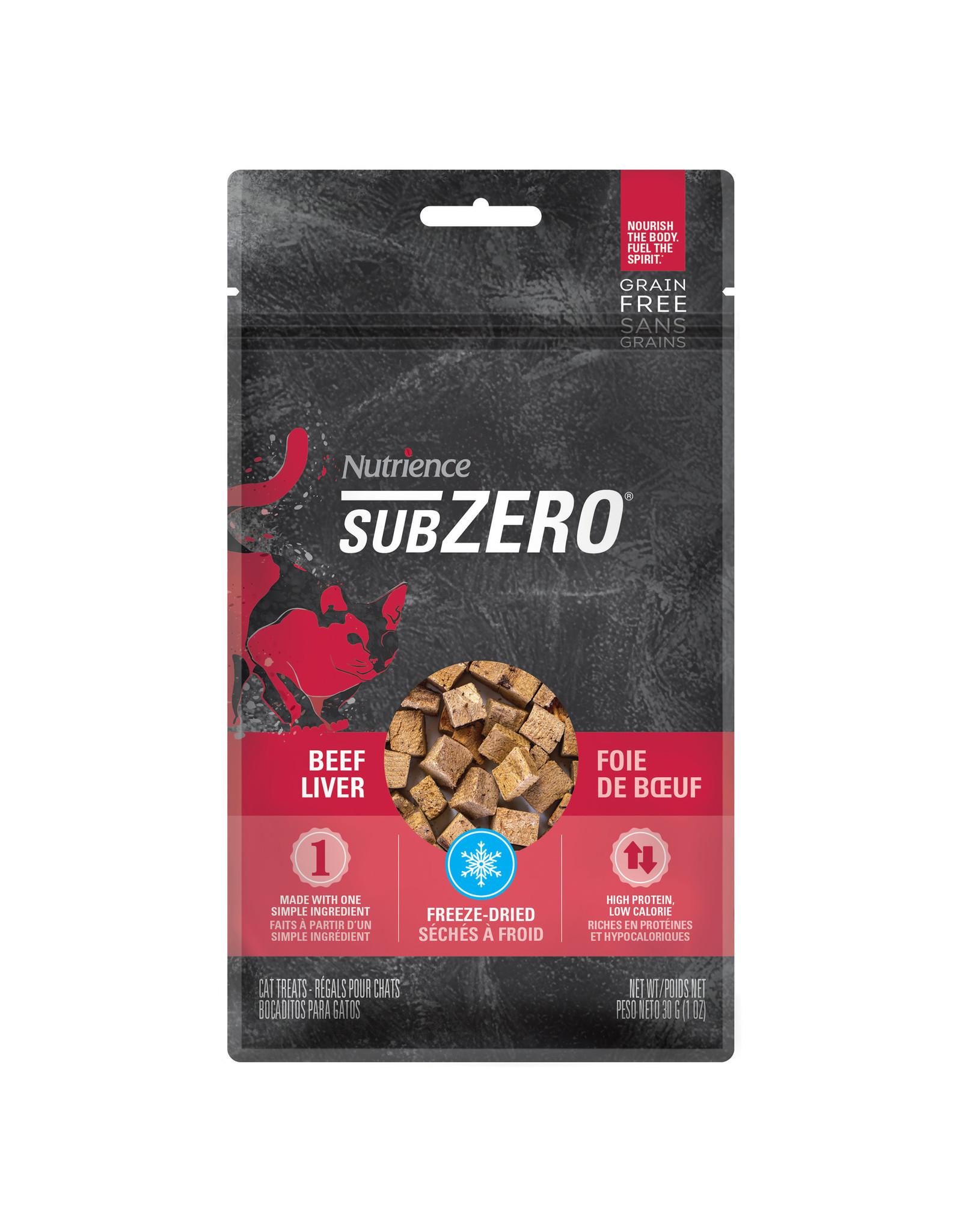 Nutrience Subzero Single Protein Treats - Beef Liver - 30 g (1 oz)