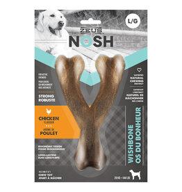Zeus Nosh Strong Wishbone Chew Toy - Chicken L