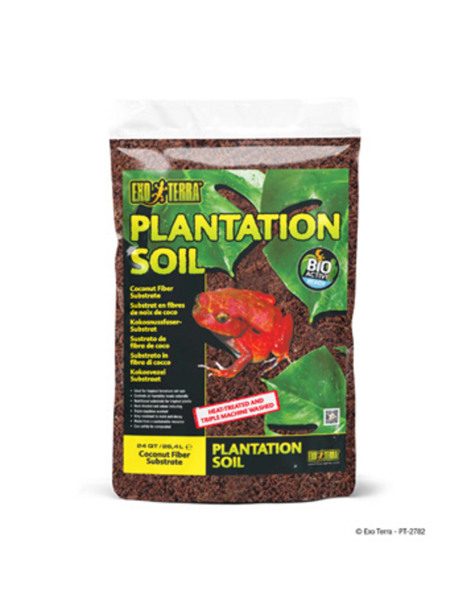 Exo Terra Plantation Soil Substrate 26.4L
