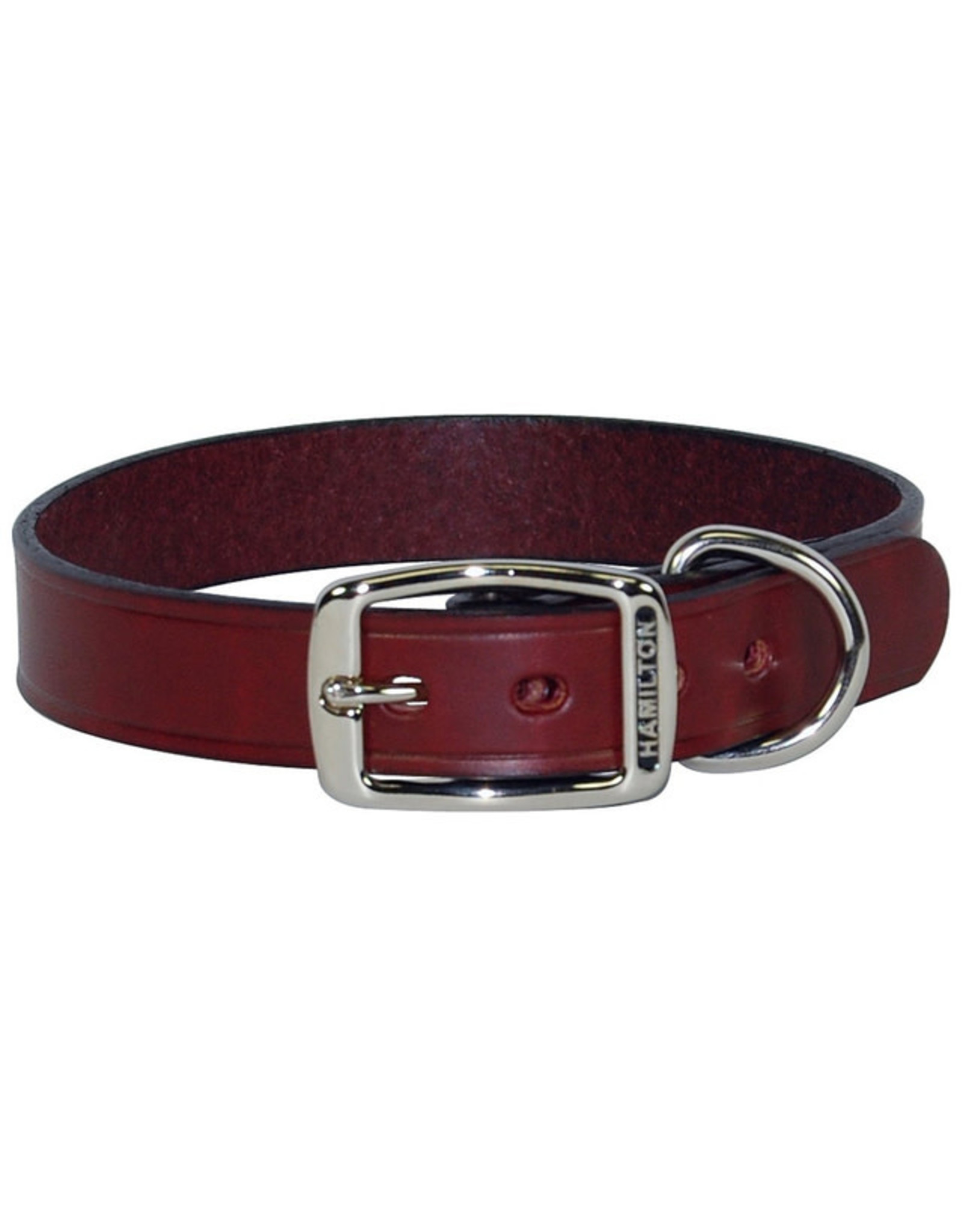 Hamilton Hamilton Creased Leather Collar