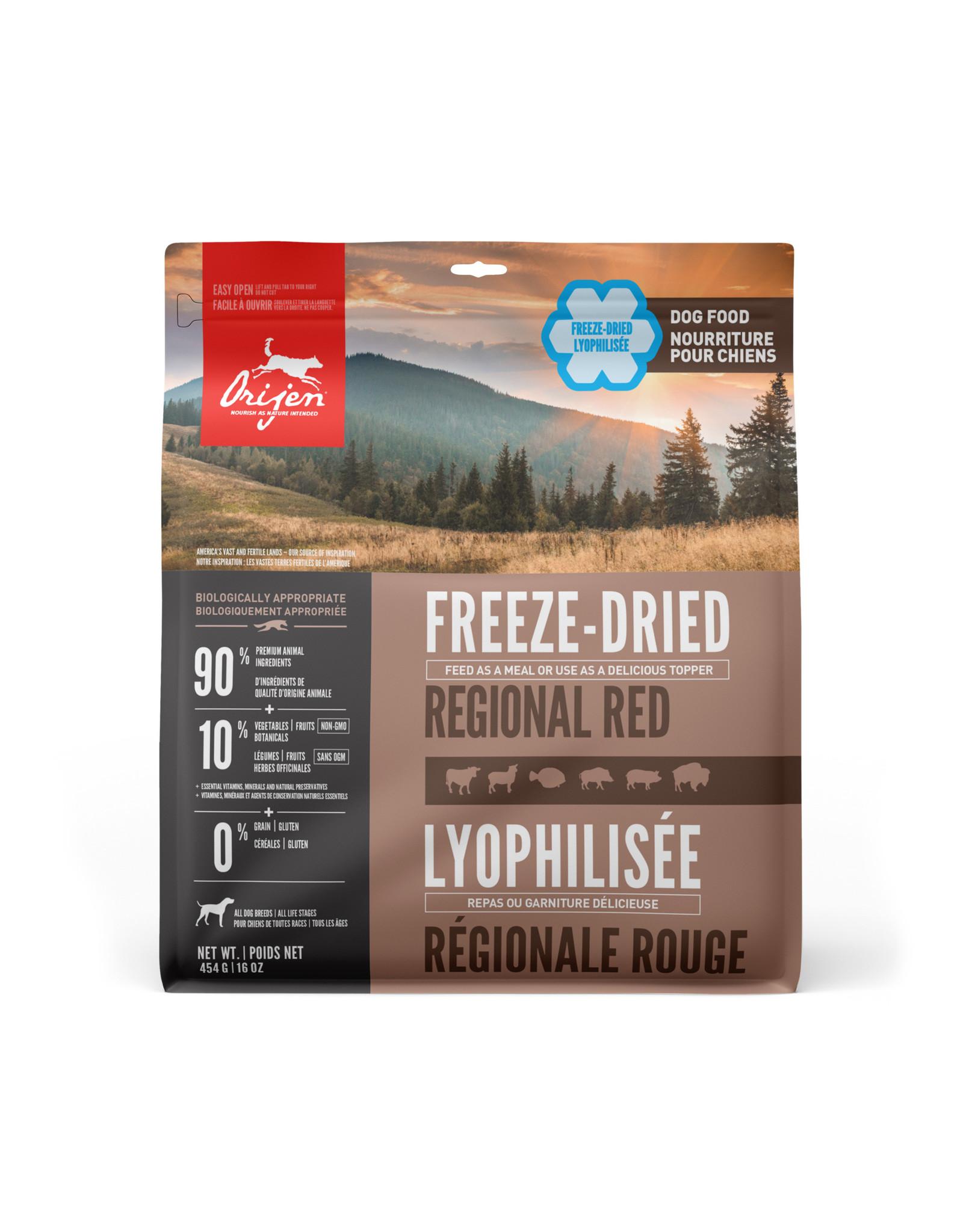 ORIJEN ORIJEN Freeze-Dried  Food Regional Red