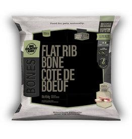 Big Country Raw Flat Rib Bone Small 1lb Bag
