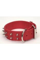 Coastal Pet Macho Dog Double-Ply Nylon Spiked Collar