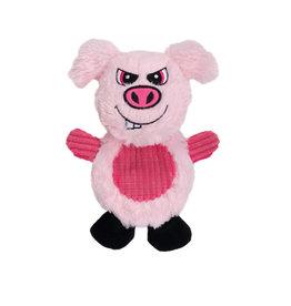 DogIt Dogit Stuffies – Flat Friend - Pig - 19 cm (7.5 in)