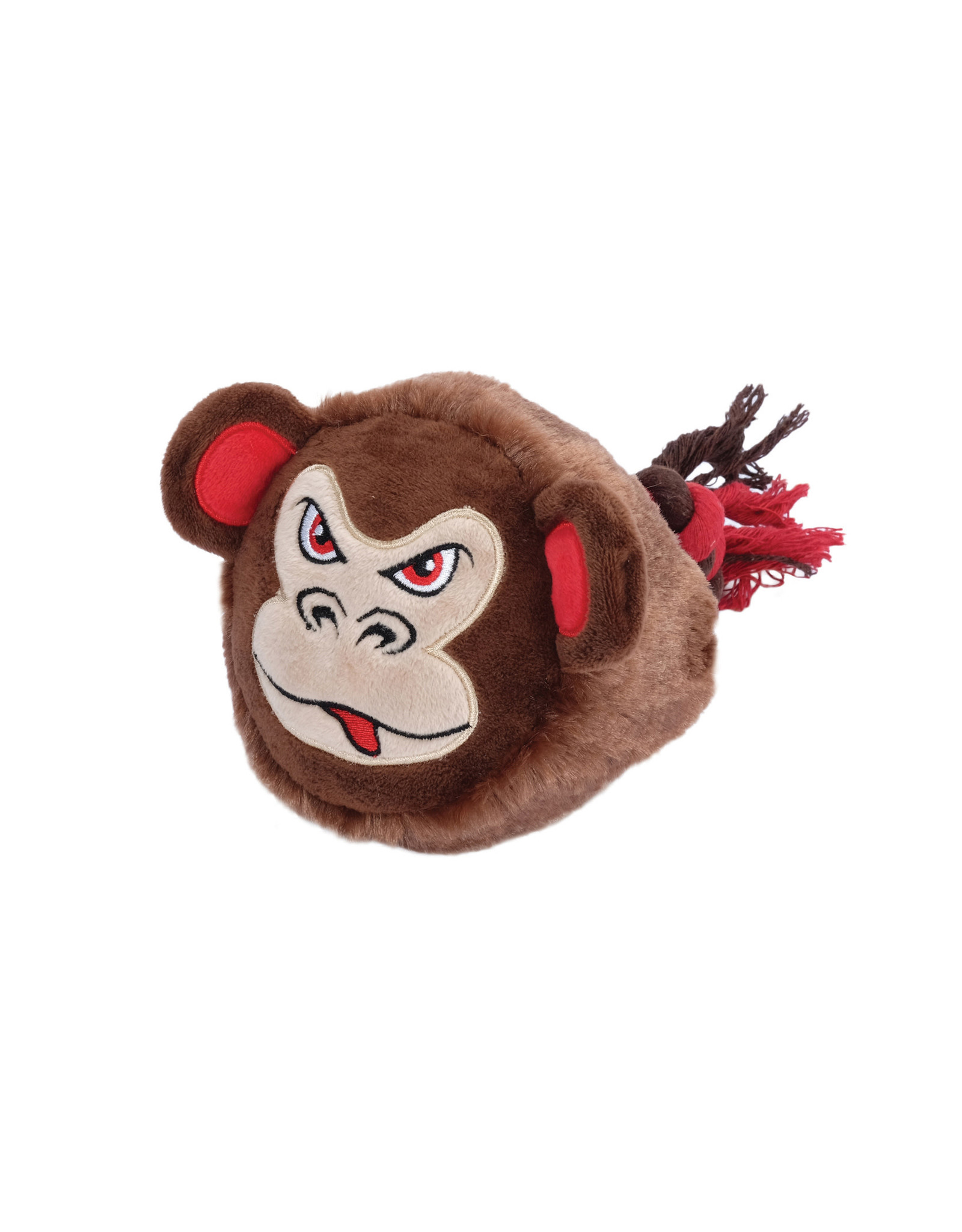 DogIt Dogit Stuffies – Big Head Friend - Monkey - 23 cm (9 in)