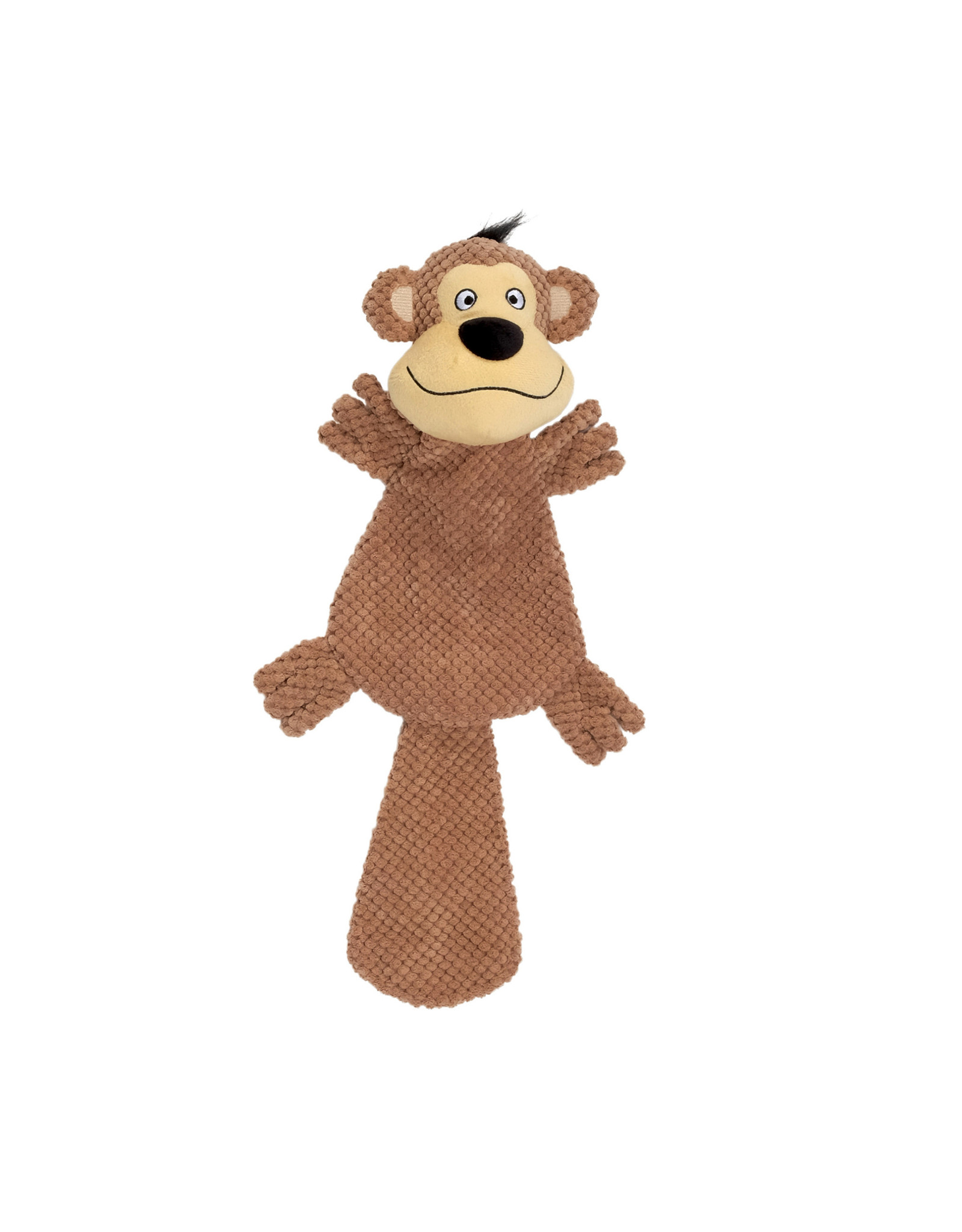 DogIt Dogit Stuffies – XL Flat Friend - Monkey - 49 cm (19.5 in)